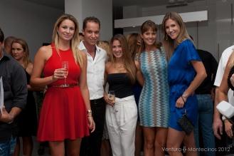 Luiza Chiminacio, Cristiano Piquet, Fabiola Duzoglou, Ana Maher and Mayra Kaefer