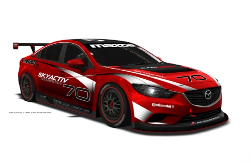 MAZDA NORTH AMERICAN OPERATIONS CLEAN DIESEL RACECAR