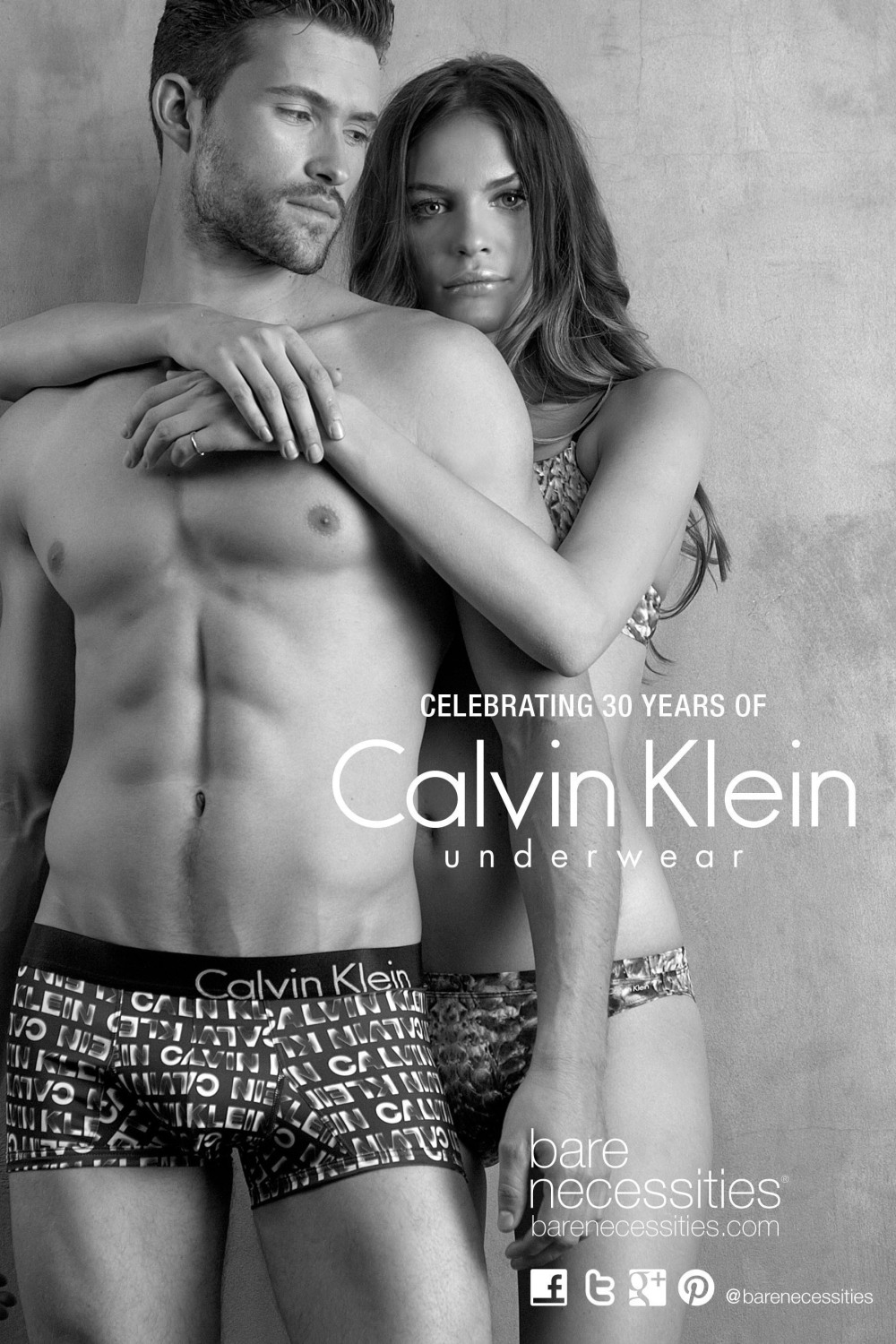 5eed9f28464 Bare Necessities Celebrates 30 Years of Calvin Klein Underwear with ...