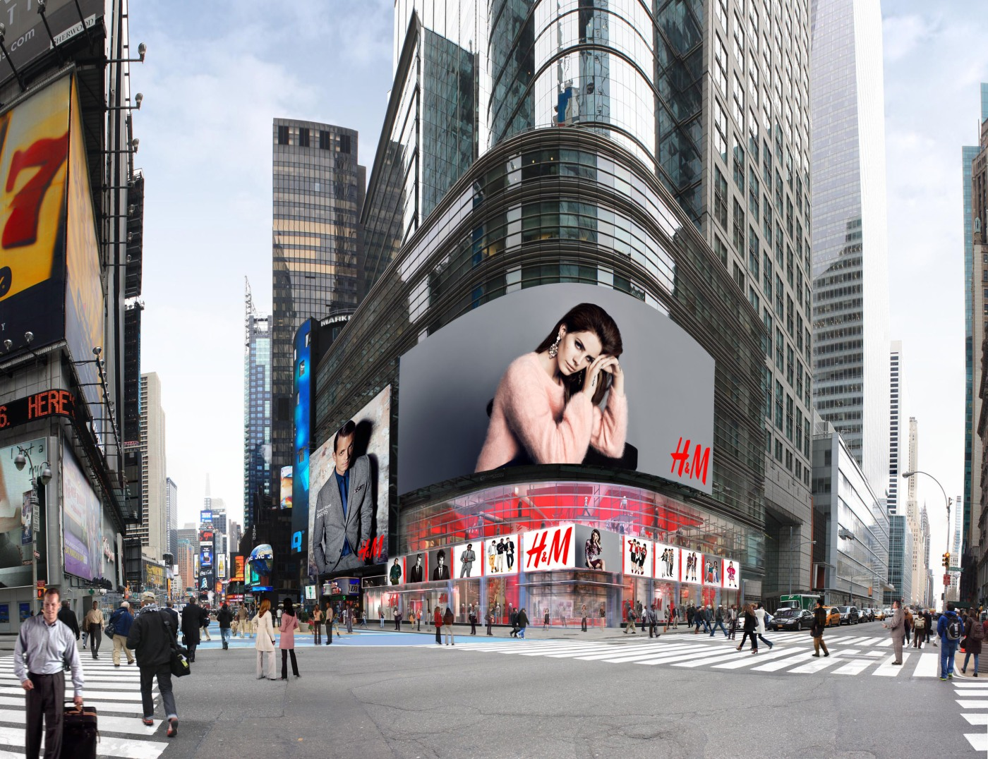 H&M New 42,500 sq ft Store in Times Square – THE ...