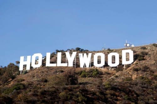 SHERWIN-WILLIAMS HOLLYWOOD SIGN FACE-LIFT