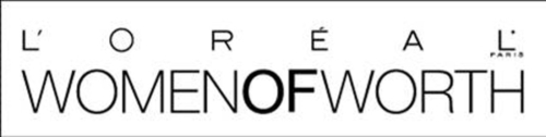 L'OREAL PARIS WOMEN OF WORTH AWARDS LOGO