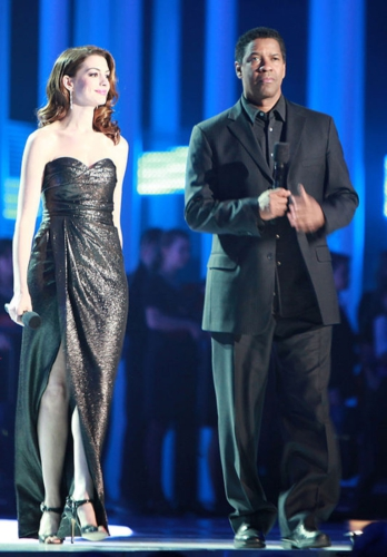 QUIGLEY PUBLISHING COMPANY DENZEL WASHINGTON AND ANNE HATHAWAY