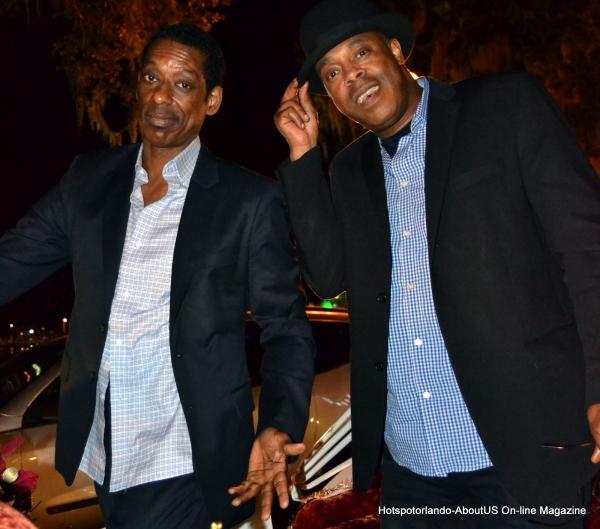 Actor Comedian Michael Winslow & Orlando Jones
