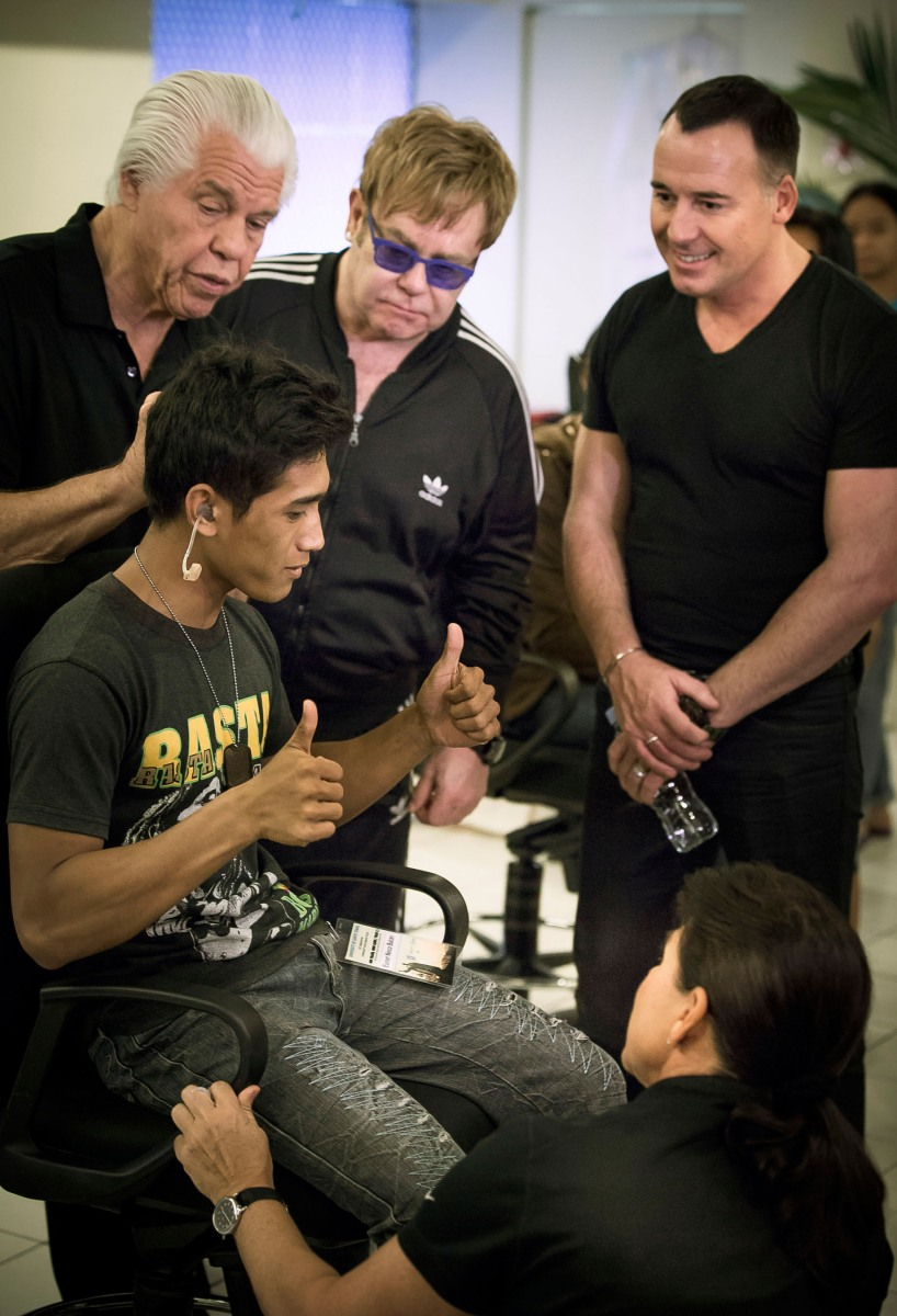 Sir Elton John Joins Starkey Hearing Foundation On Mission To Philippines, Bringing The Gift Of Hearing To Hundreds Of People In Need – THE HOTSPOTORLANDO
