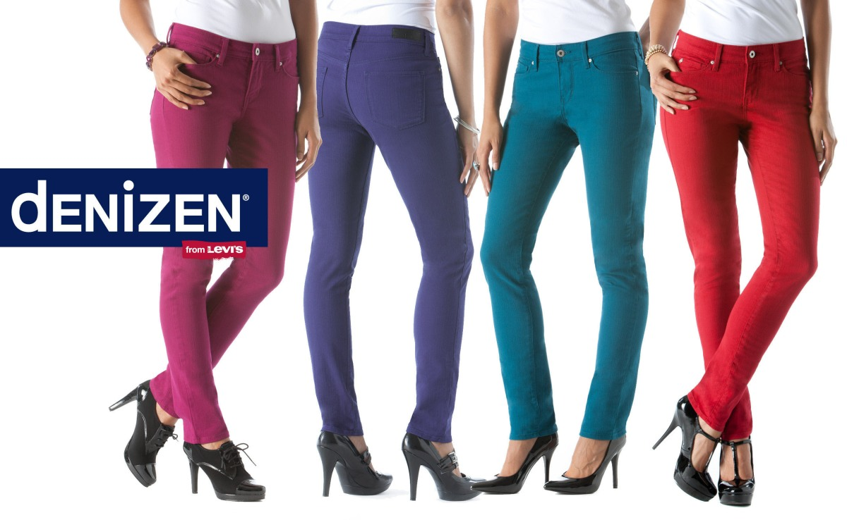 Womens Colored Skinny Jeans