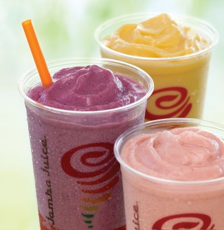 JAMBA JUICE COMPANY FIT 'N FRUITFUL SMOOTHIES