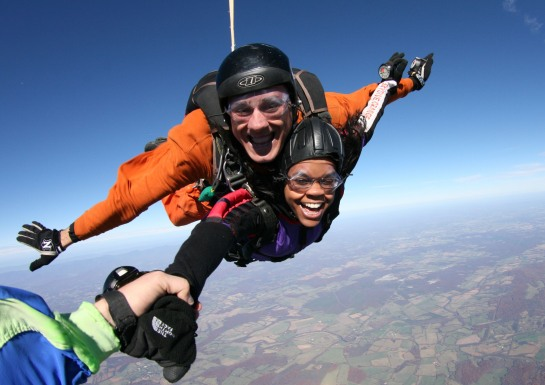 U.S. PARACHUTE ASSOCIATION SKYDIVING