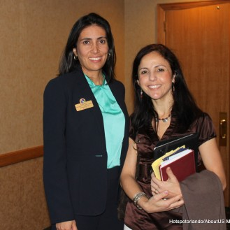 Monica Correa -Bright House and Sandra Freire-New Hope Assistance Center