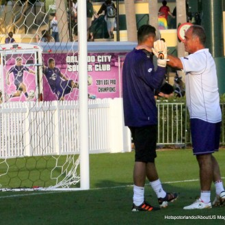 This is Gallardo with the Brazilian Coach , one of the coaches Orlando City has