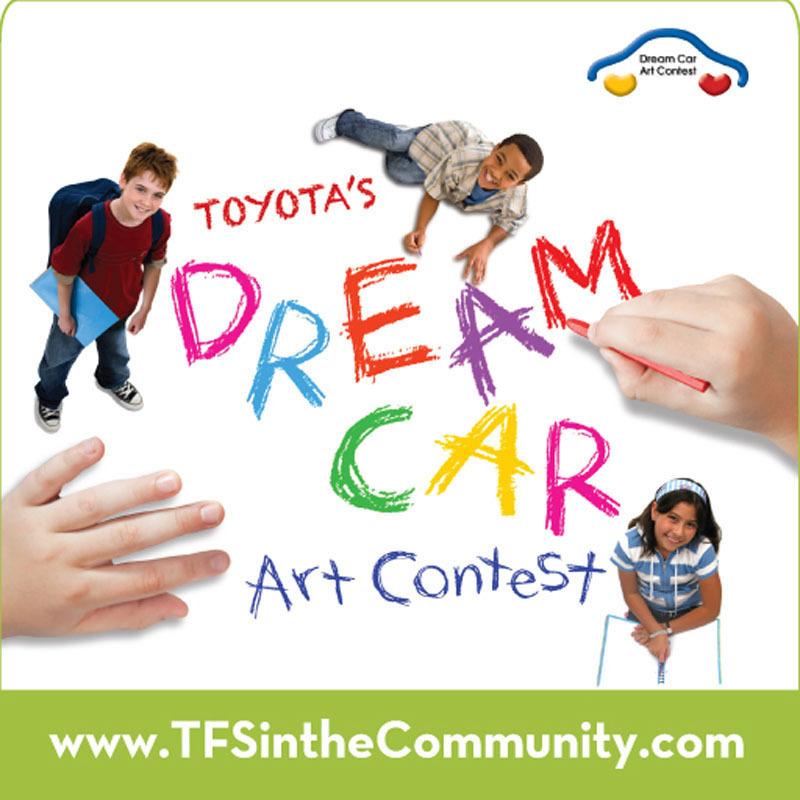 TOYOTA FINANCIAL SERVICES DREAM CAR ART CONTEST 2013