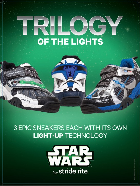 STRIDE RITE CHILDREN'S GROUP STAR WARS