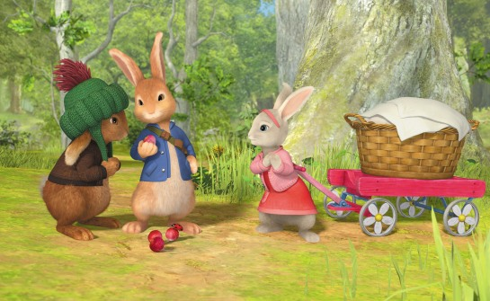 NICKELODEON PETER RABBIT