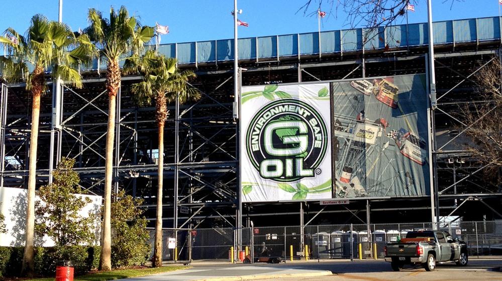 GREEN EARTH TECHNOLOGIES G-OIL AT DAYTONA INTERNATIONAL SPEEDWAY