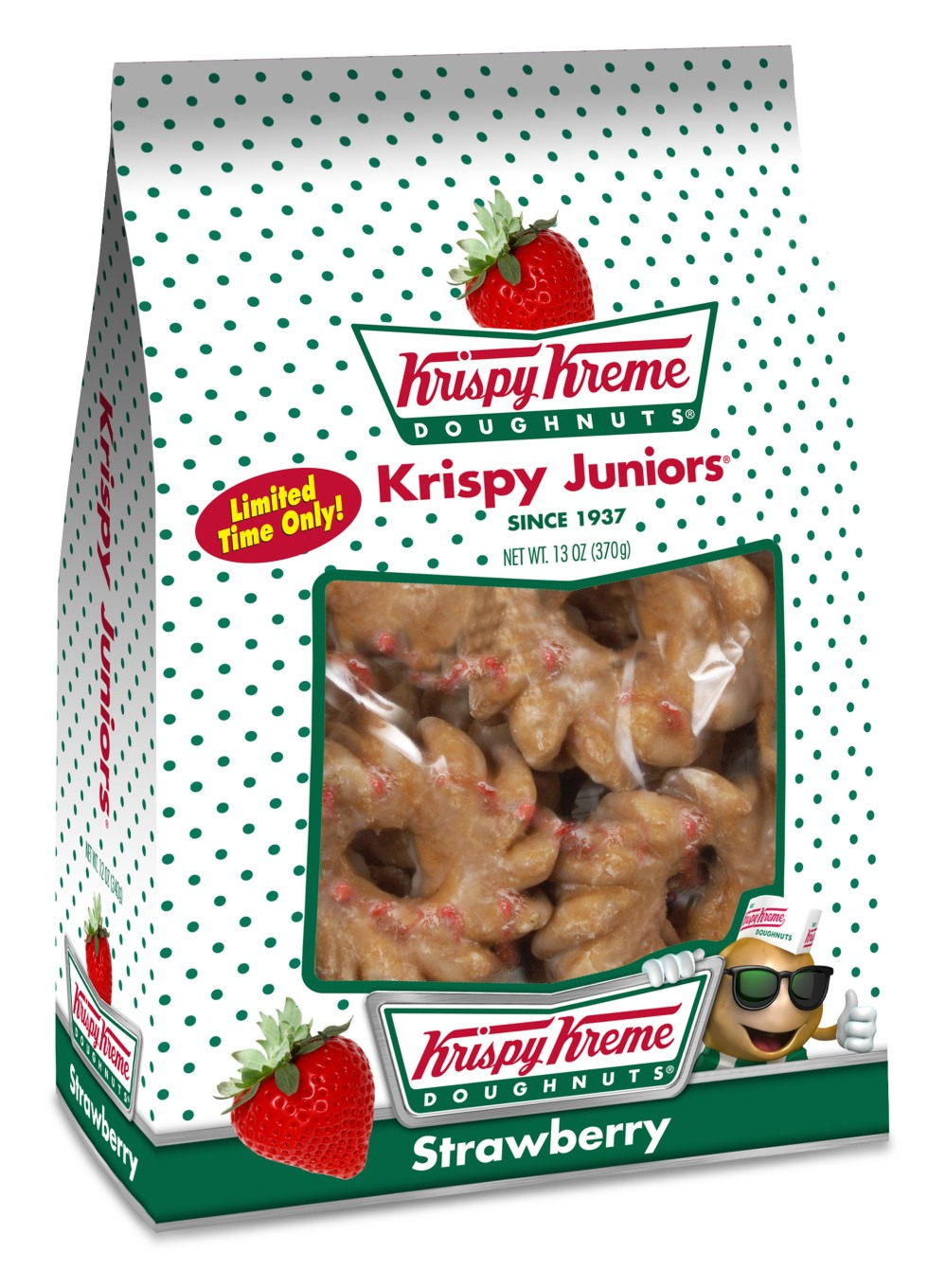 KRISPY KREME DOUGHNUT CORPORATION STRAWBERRY KRISPY JUNIORS