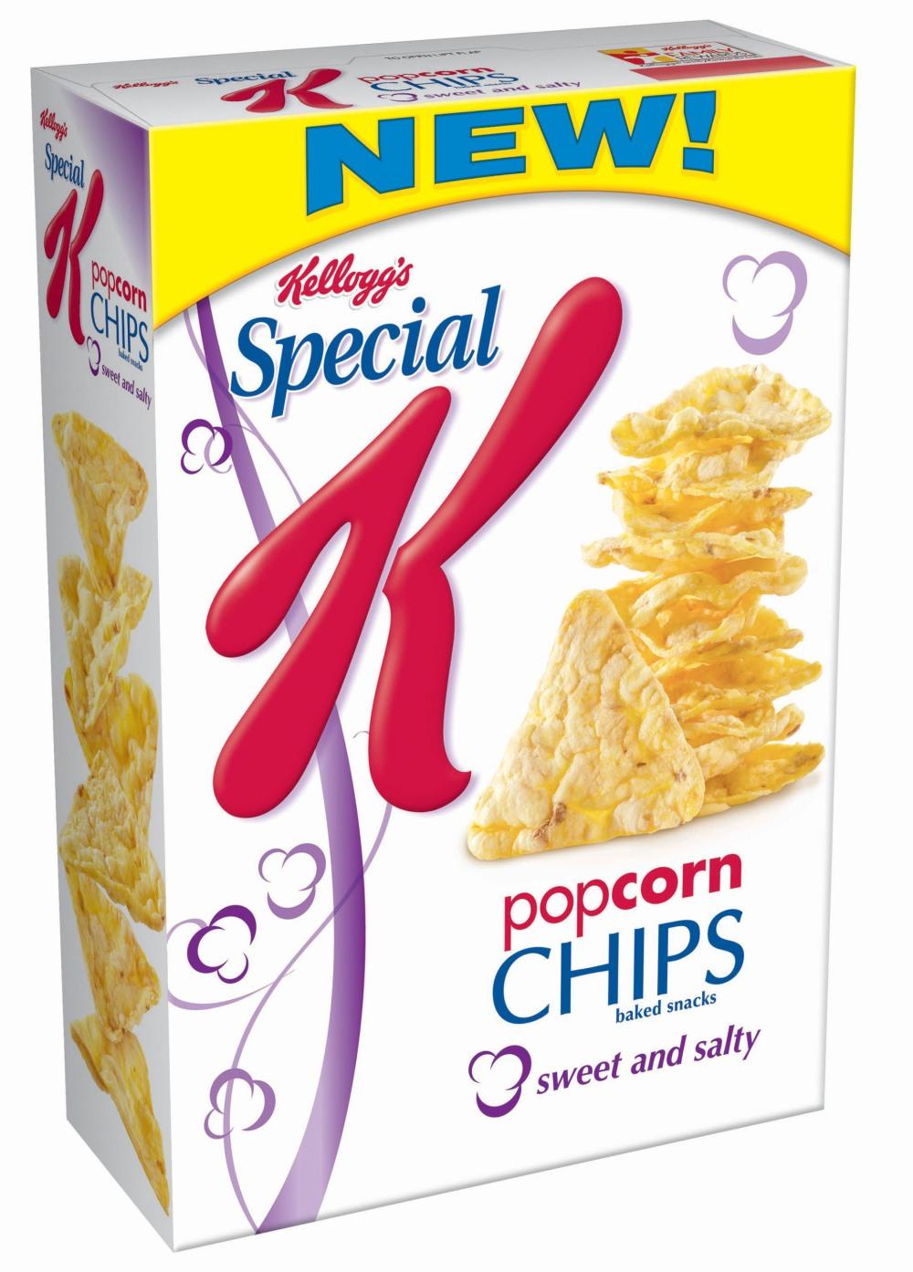 KELLOGG COMPANY SPECIAL K POPCORN CHIPS