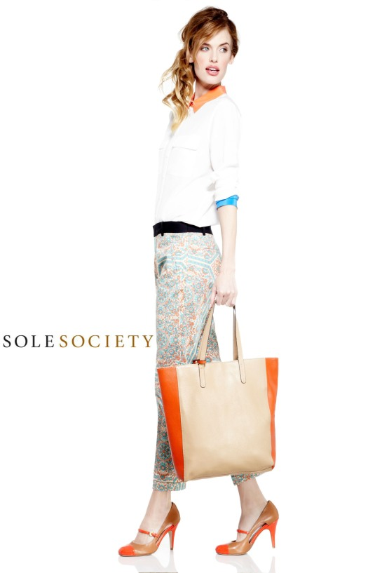 SOLE SOCIETY AINSLEY TOTE