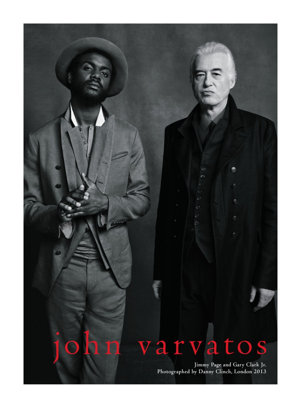 JOHN VARVATOS GARY CLARK JR. AND JIMMY PAGE