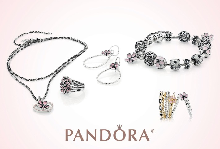 PANDORA JEWELRY CHERRY BLOSSOMS