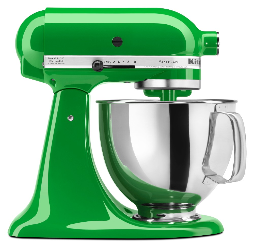 KITCHENAID CANOPY GREEN STAND MIXER