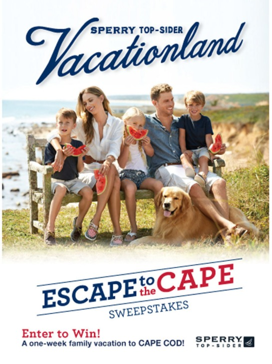 STRIDE RITE CHILDREN'S GROUP VACATIONLAND SWEEPSTAKES