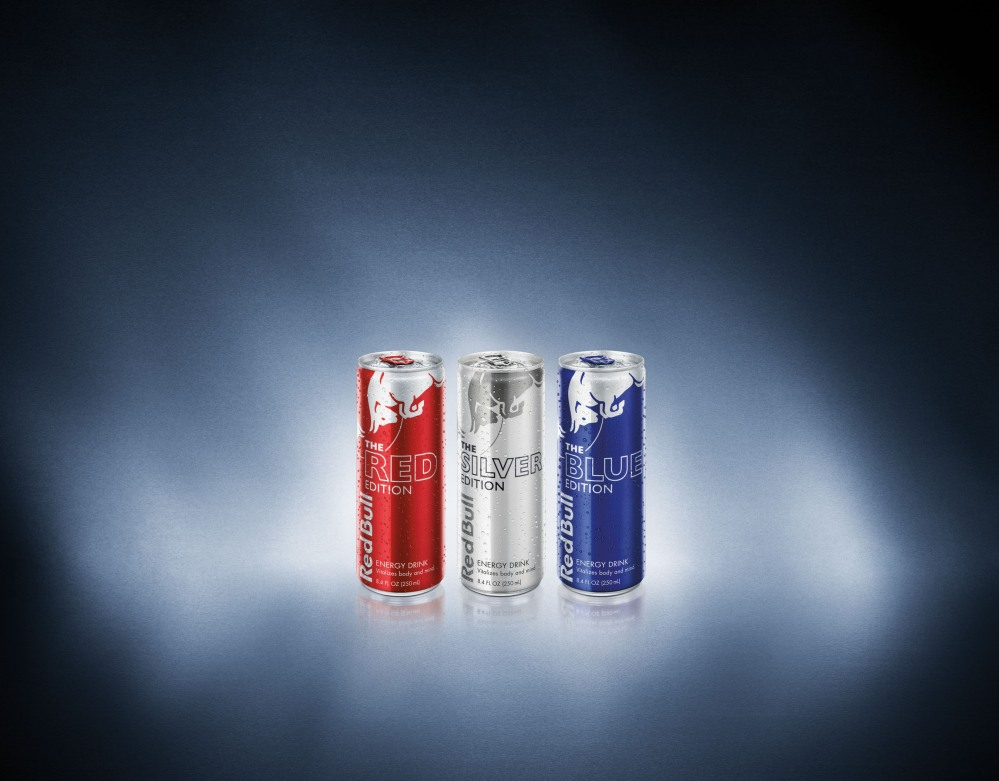 RED BULL NORTH AMERICA CANS