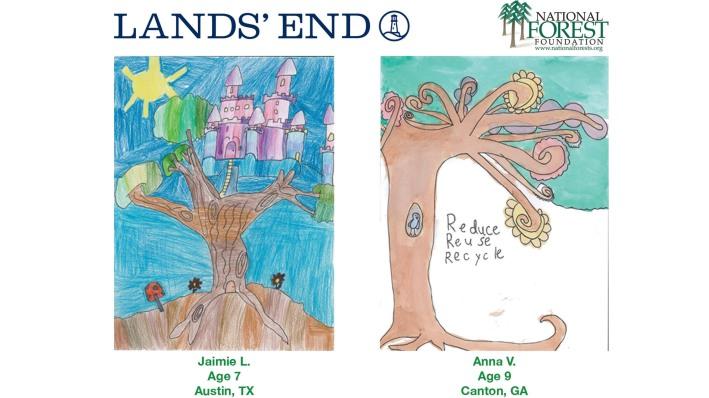 LANDS' END WINNERS