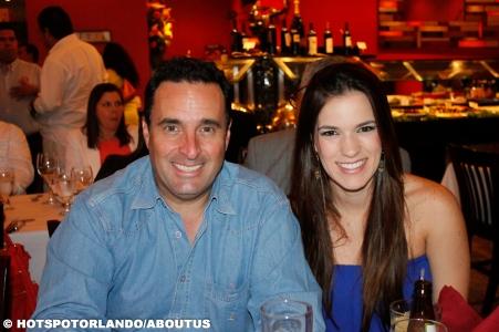 Marcelo Machado and wife Lara