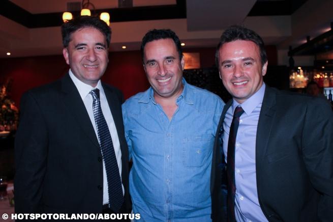Attorney Walter G Santos, Marcelo Machado e Fabio Lobo