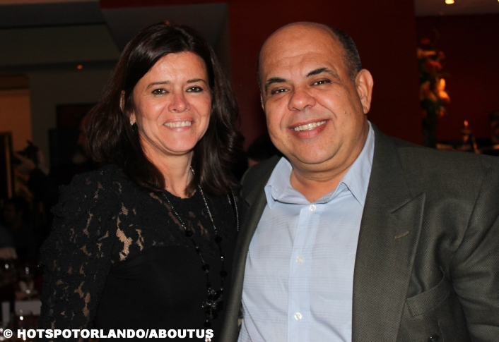 Paulo Correa and his wife