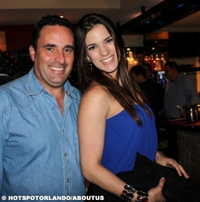 Marcelo Machado and Lara Machado