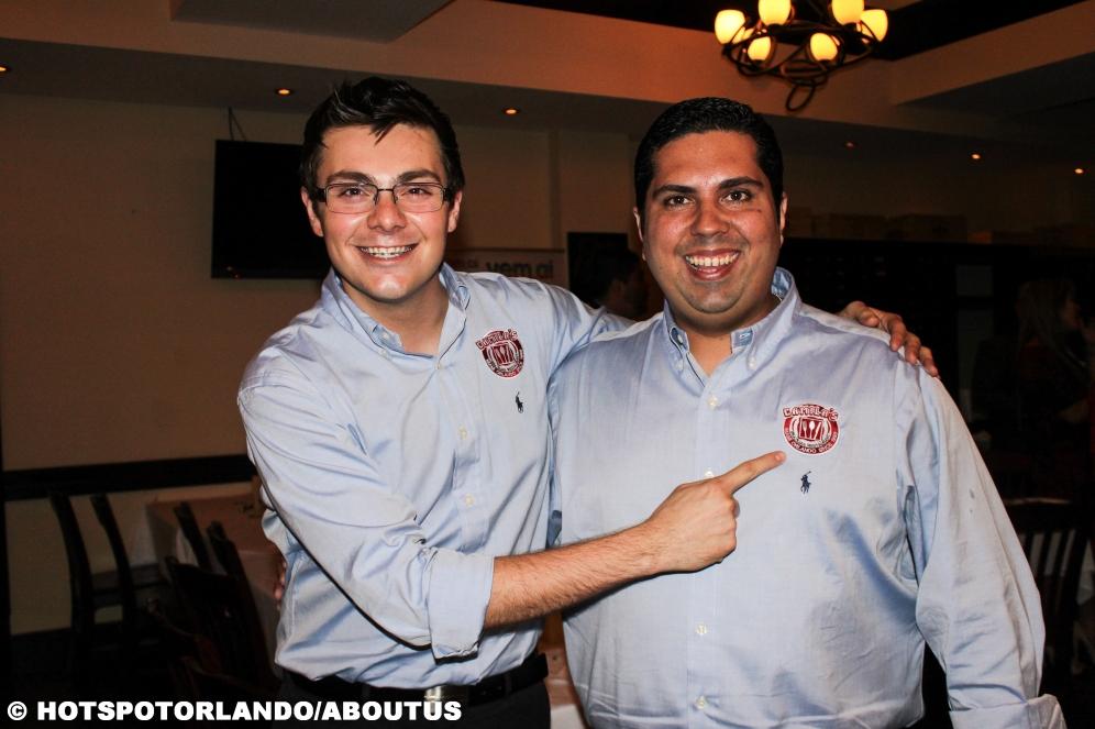 Andre Catena Neto and Alexandre Alencar Camilas Restaurante