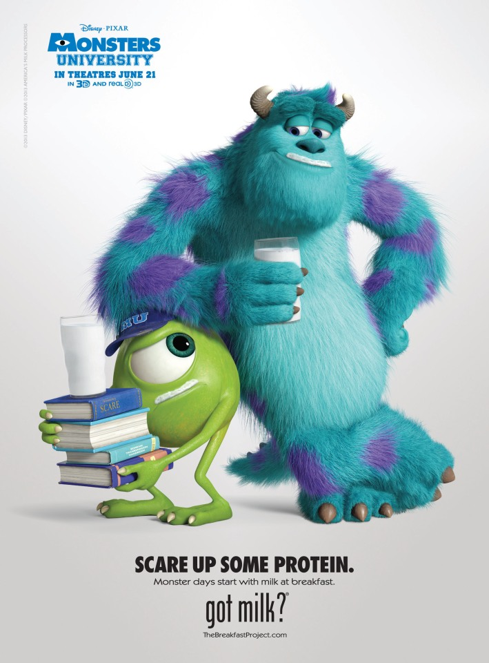 MILKPEP MIKE AND SULLEY