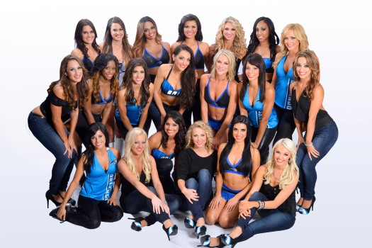 The 2012-13 Orlando Magic Dancers.