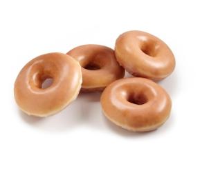 Krispy Kreme Four Original Glazed Doughnuts