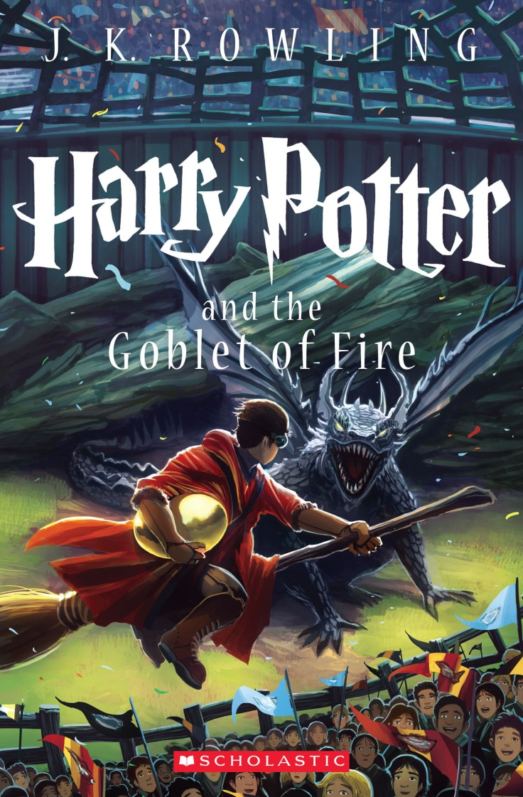 SCHOLASTIC GOBLET OF FIRE