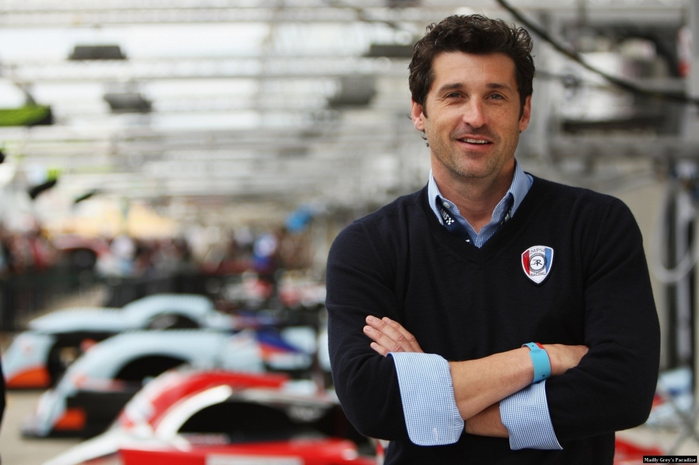 Patrick Dempsey Chases The Worlds Best Drivers And Past Racing