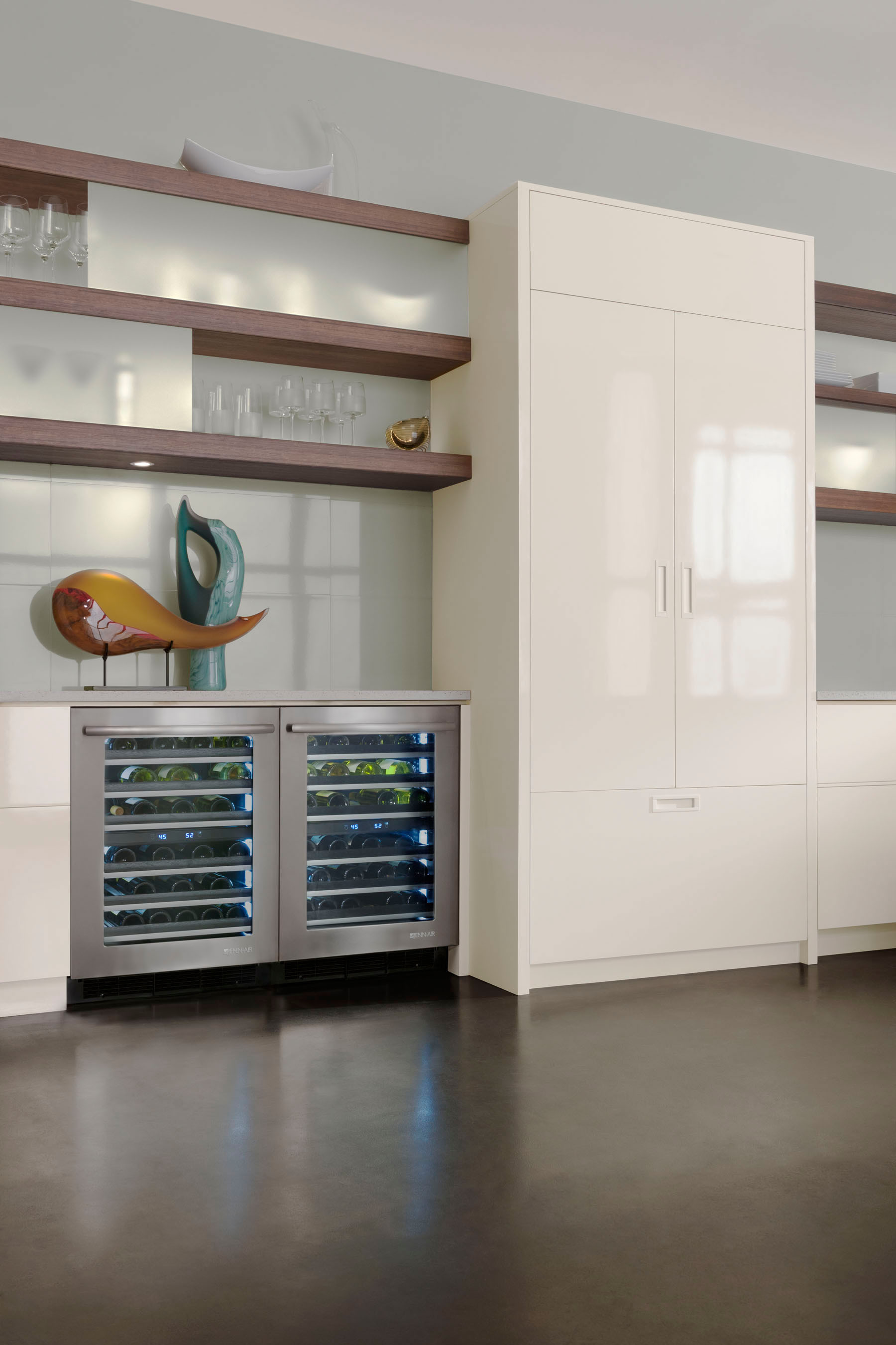 JENN-AIR WINE CELLAR & New Jenn-Air® Built-In Under Counter Refrigerator Collection: For ...