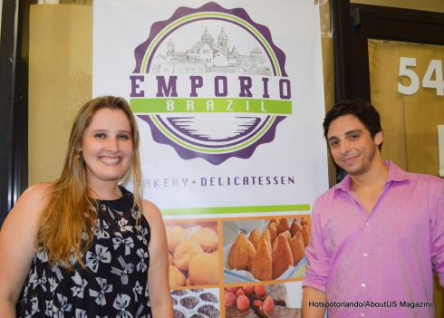 Felipe Andre and Michela Salvon-Emporio Brazil oming up