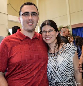 Marcelo e esposa