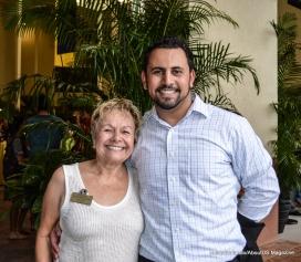 Amy Litter e Paulo Diniz