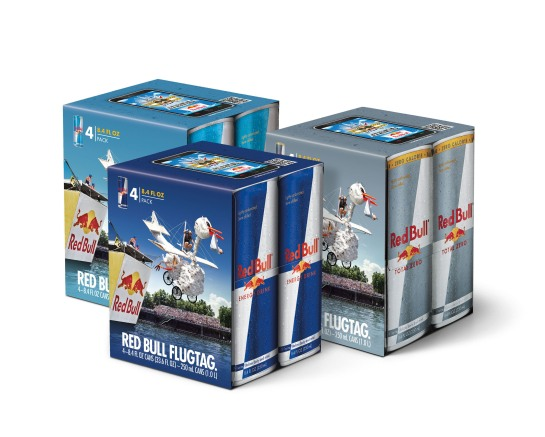 RED BULL NORTH AMERICA FLUGTAG 4-PACK