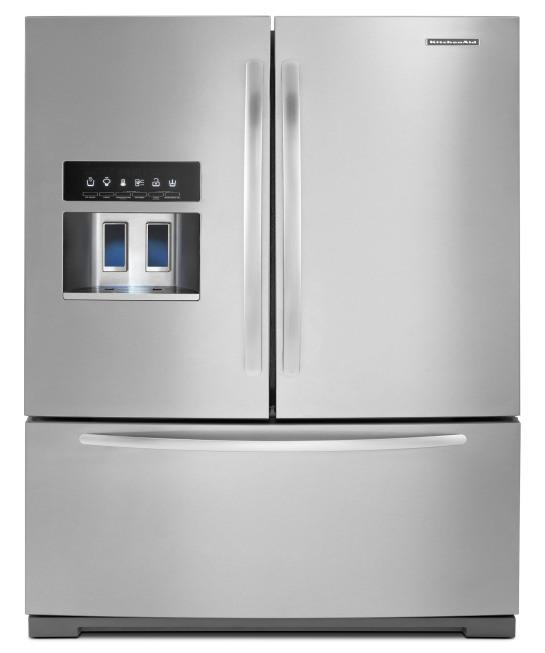 New Kitchenaid 174 Refrigerator Features Unique Platinum