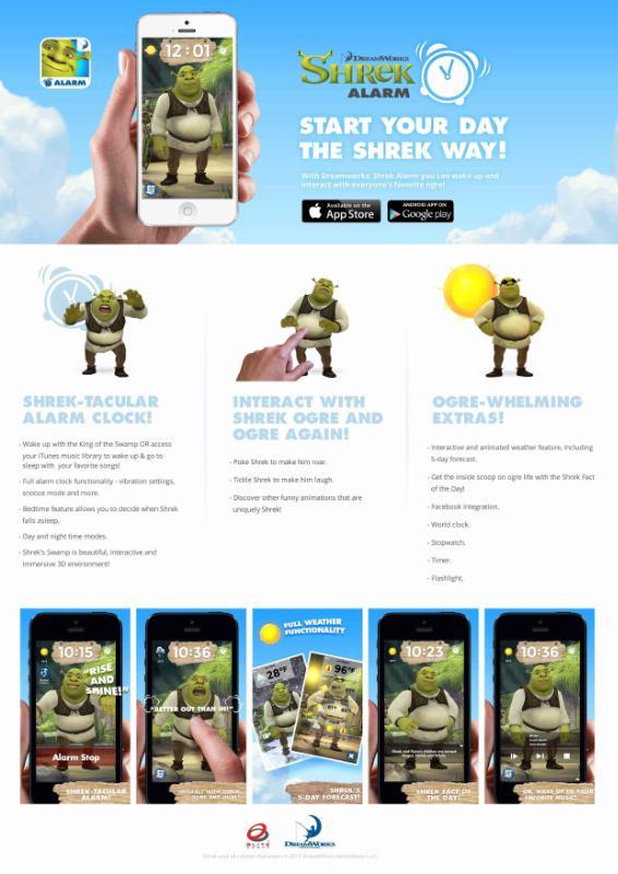 Start Your Day the Shrek Way with DreamWorks' Shrek Alarm