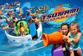 SIX FLAGS DISCOVERY KINGDOM TSUNAMI SOAKER