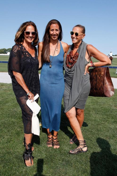 Kelly Klein, Gabby Karan de Felice, Donna Karan.