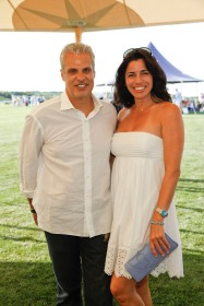 Eric and Sandra Ripert.