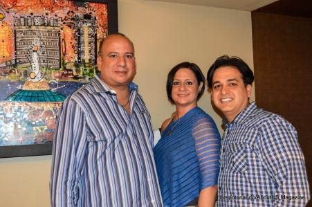 Joaquin Torres, Yara Rodriguez and Oscar Ortiz