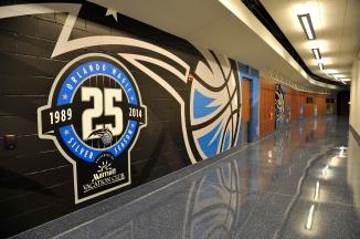 Orlando Magic 25th Anniversary Logo Branding