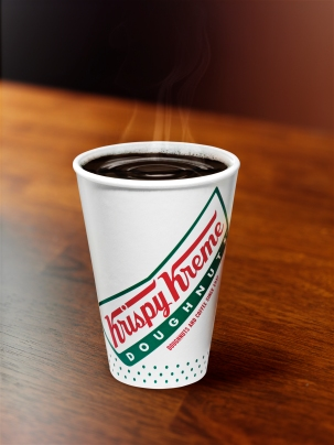 FREE 12oz cup of Krispy Kreme House Blend Coffee on September 29